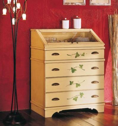 Pastiera Anabella din lemn masiv cu pictura manuala