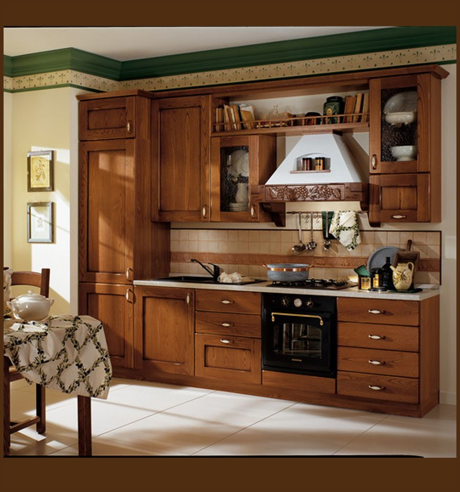 mobla bucatarie lemn masiv donato. Black Bedroom Furniture Sets. Home Design Ideas