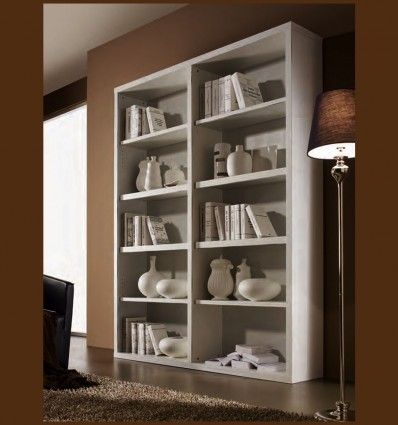 Biblioraft Modern Benadeta Lemn Masiv