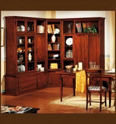 Biblioteca Lemn Masiv Gisa
