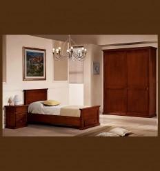 Dormitor Lemn Masiv Copii Marco