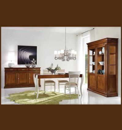 Set elegant Mobilier Gentiana din lemn masiv